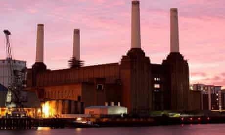 Battersea power station is for sale on the open market for the first time in its history