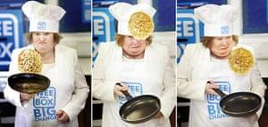 Week In Music: Susan Boyle pancake day