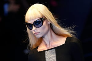 Versace Milan: A creation from Versace's 2012 Autumn/Winter collection in Milan