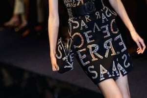 Versace Milan: Versace: Runway - Milan Fashion Week Womenswear Autumn/Winter 2012/2013