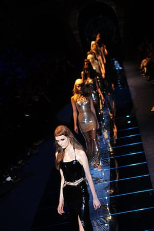 Versace Milan: Versace at Milan Fashion Week