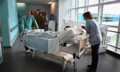 A patient in hospital