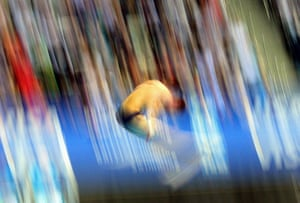 24hours: Victor Minibaev competes in the FINA Diving World Cup