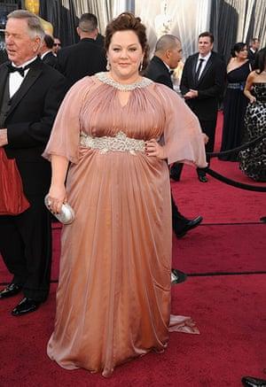 Oscars red carpet: Melissa McCarthy