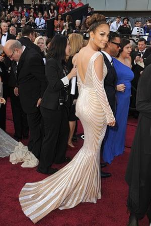 Oscars red carpet: Jennifer Lopez in Zuhair Murad