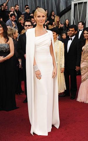 Oscars red carpet: Gwyneth Paltrow in Tom Ford