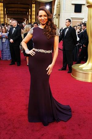 Oscars red carpet: Maya Rudolph in Johanna Johnson