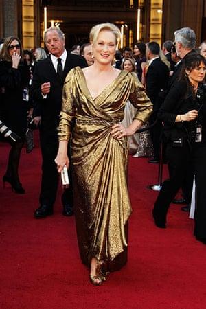 Oscars red carpet: Meryl Streep, Best Atress nominee in eco Lanvin