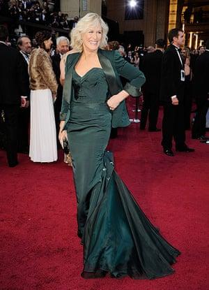 Oscars dresses: Glenn Close
