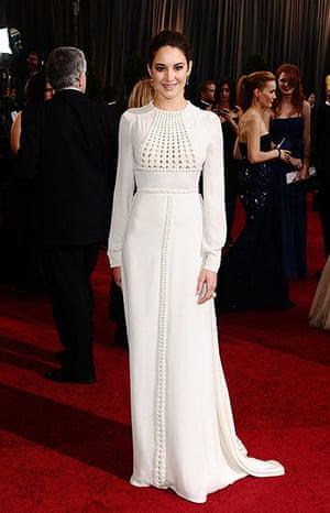 Oscars dresses: Shailene Woodley