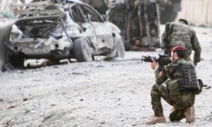 Afghanistan base attack