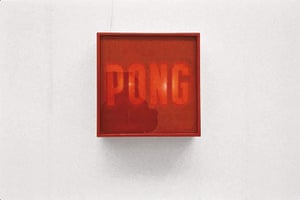 Alighiero Boetti: Alighiero Boetti's Ping Pong 1966
