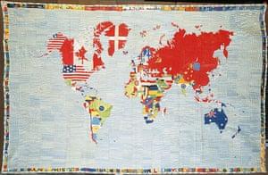 Alighiero Boetti: Alighiero Boetti Mappa 1971-1972