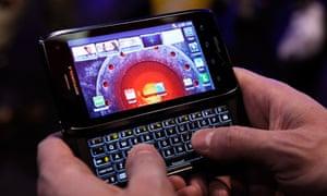 Motorola's new smartphone, the Droid 4