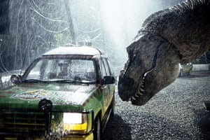 Science Fiction movies: Scene from <Jurassic Park>