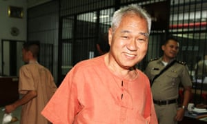 Thai court convicted seven years and six months on lese majeste for his public speech