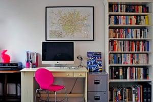 interiors editors homes: Charlotte Duckworth's study
