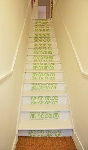 interiors editors homes: Charlotte Duckworth's staircase