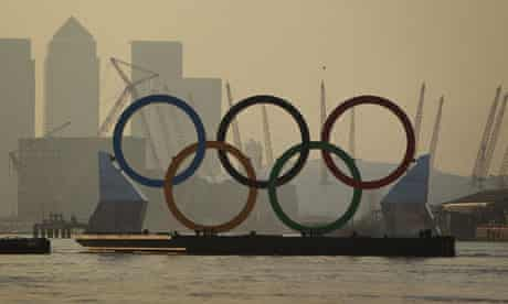 Olympic barge
