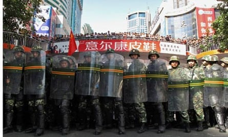 Police urumqi