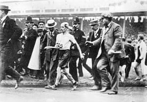 1908 Olympics: Pietri Dorando Olympic Marathon Runner
