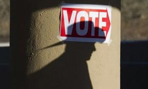 Voting in Arizona primary