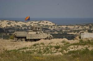 Tom Hurndall : Israeli Defence Force tank