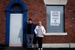 Ciara pathfinders gallery: Maureen and Terry Walsh of the Derker Action Group in Oldham