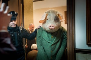 Guardian TV advert: The First Little Pig is led into court