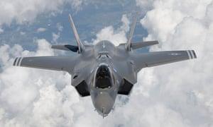 Lockheed Martin's F-35 Lightning II fighter jet