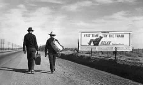 Dust Bowl refugees in California