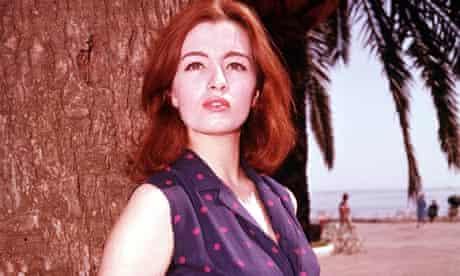 Christine Keeler, key figure in the 1963 Profumo Scandal