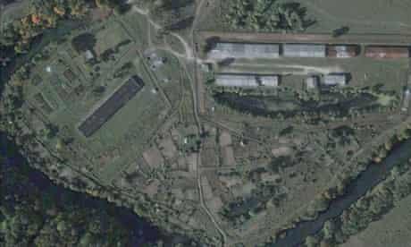 Satellite image of Kaliningrad