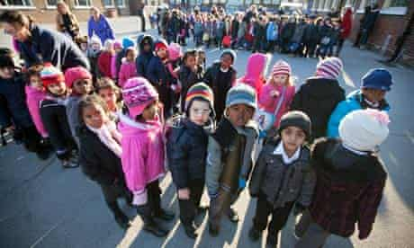 The number of primary school pupils in Barking, east Lond, is expected to rise by 8,000 by 2015