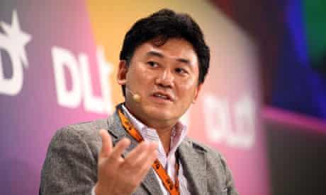 Hiroshi Mikitani of Rakuten
