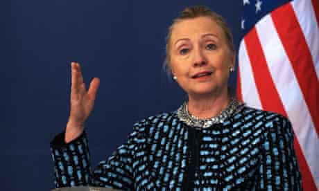 Hillary Clinton says 'friends of Syria' would redouble their efforts