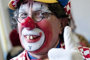 Grimaldi Day: clown at the service