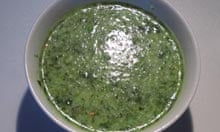 Allegra McEvedy's vegetarian tom yum soup