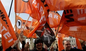 Members of Germany's Pirate Party