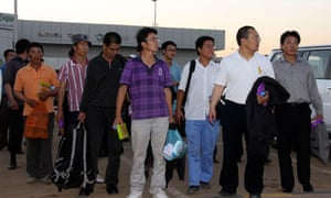 Chinese workers in Sudan