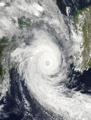 Satellite eye on earth: Tropical Cyclone Funso