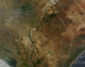 Satellite eye on earth:  South Sudan and Uganda