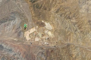 Satellite eye on earth: California's Mountain Pass rare-earth elements Mine in the Mojave Desert