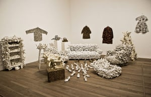 Yayoi Kusama: Accumulation on Cabinet No 1 and other works