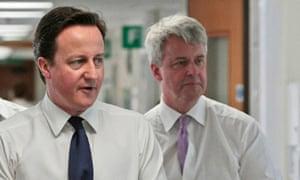 Andrew Lansley, David Cameron
