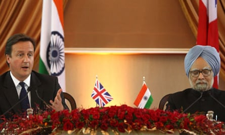 David Cameron, Manmohan Singh