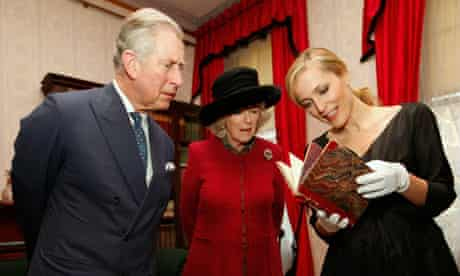 Charles Dickens at 200: Prince Charles, the Duchess of Cornwall and Gillian Anderson 7/2/12