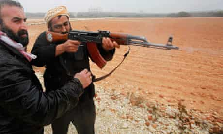 Free Syria Army fighters