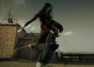 Still from The Flying Swords of Dragon Gate