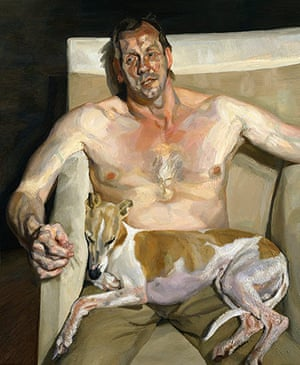Lucian Freud at NPG: Lucian Freud at National Portrait Gallery - Eli and David
